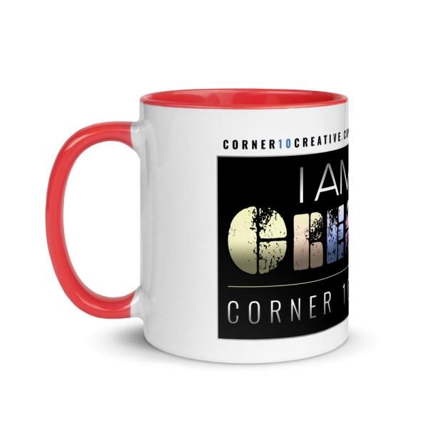 white ceramic mug with color inside red 11oz left 6043e9cfa9211