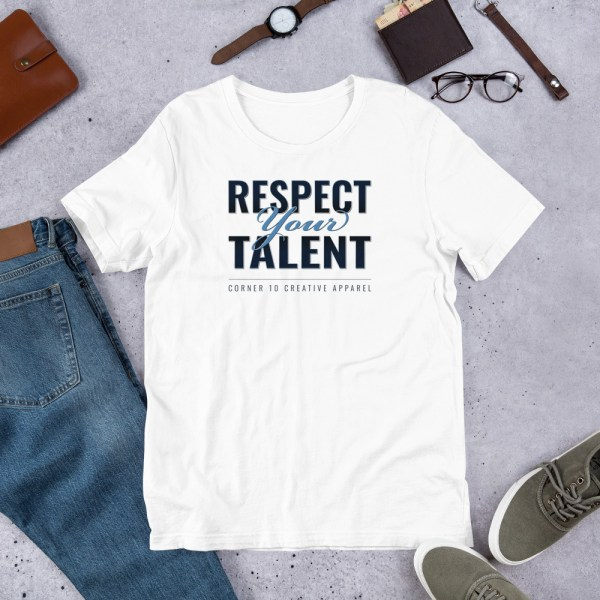 unisex staple t shirt white front 60ec9942bdda3