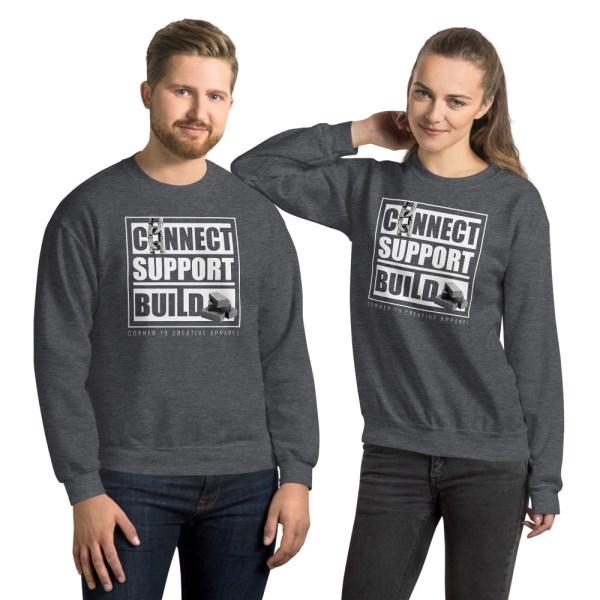 unisex crew neck sweatshirt dark heather front 612ecec3aea55