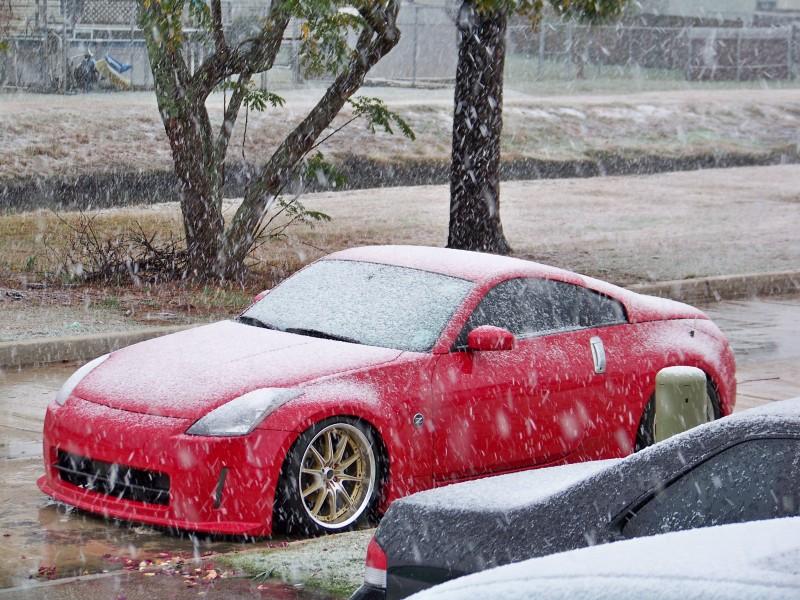 350Z Snowplow