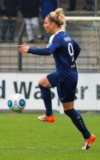 Spielerin des Spiels: Svenja Huth - Foto: Uta Zorn