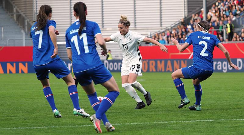 WM-Quali: Nach zwei Toren von Svenja Huth wieder an der Tabellenspitze