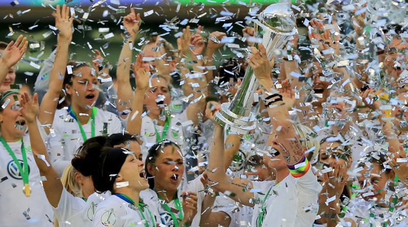 Wolfsburg holt den Pokal zum fünften Mal in Folge