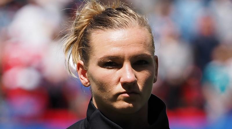 Kapitänin Alex Popp führt ihr Team gegen Nigeria ins Viertelfinale
