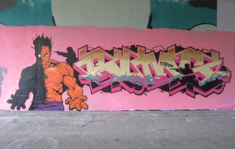 Graffiti again.