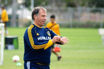 LA Galaxy Training