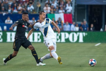 Title Image - Zlatan Ibrahimovic plays against LAFC in July 2019