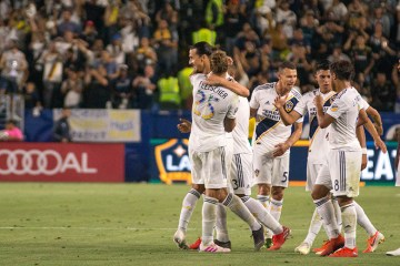 Title Image - LA Galaxy play LAFC on July 19, 2019 - Photo by Brittany Campbell
