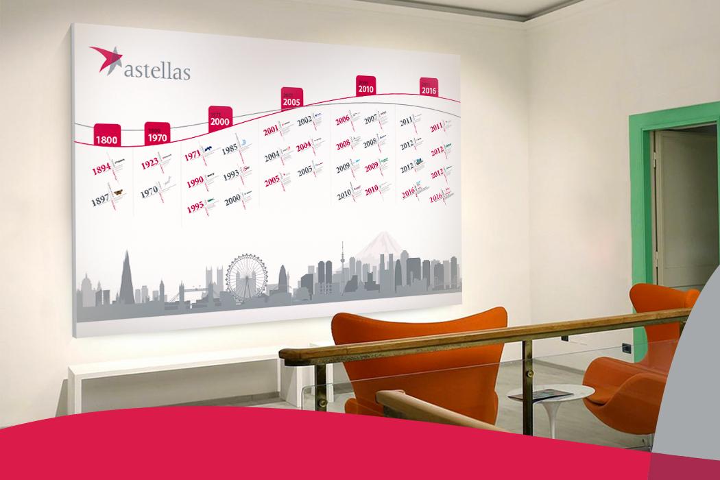 Astellas Calendar Design by Cornerstone