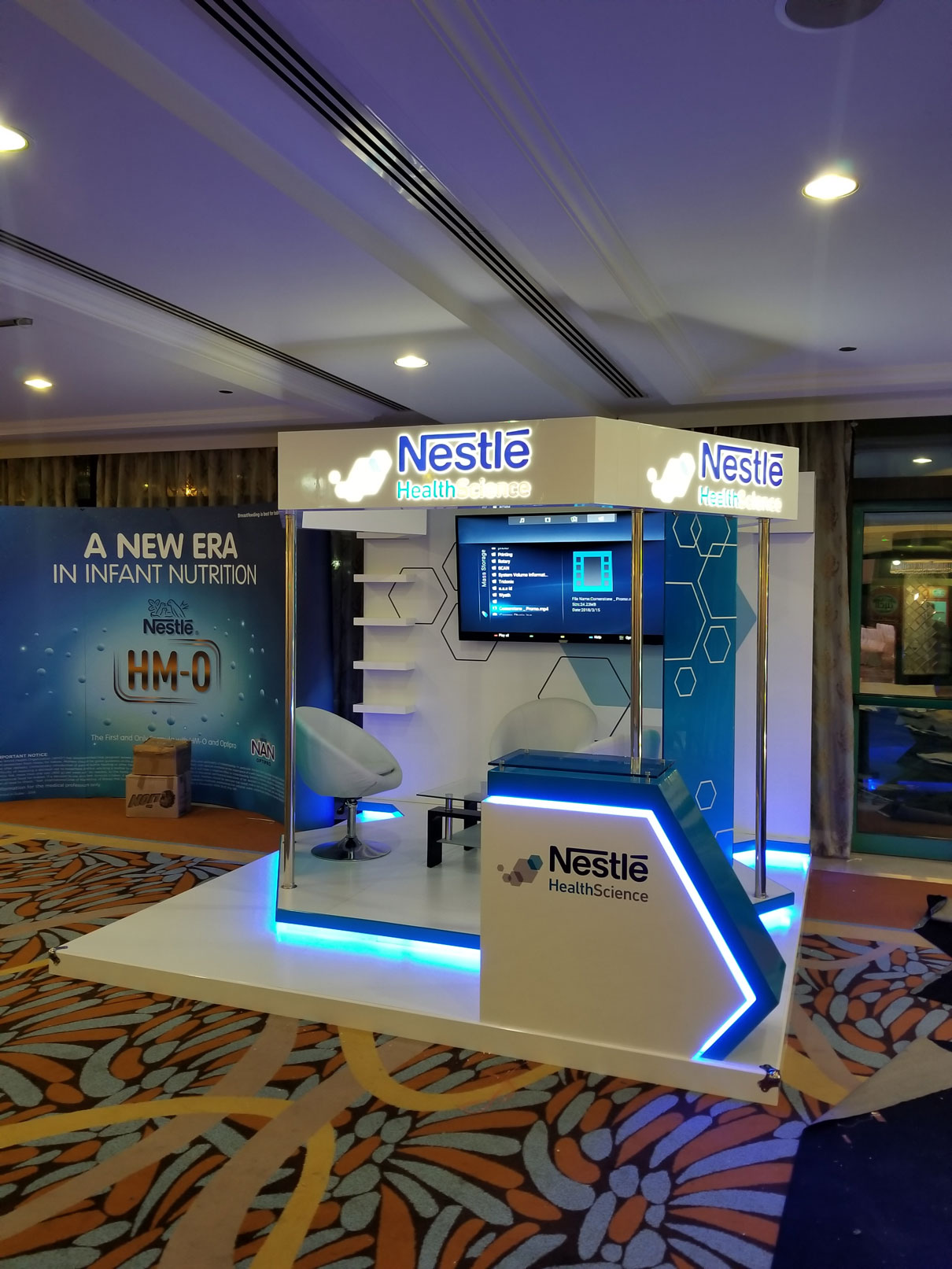 Nestle Exhibition Stand 2 by Cornerstone