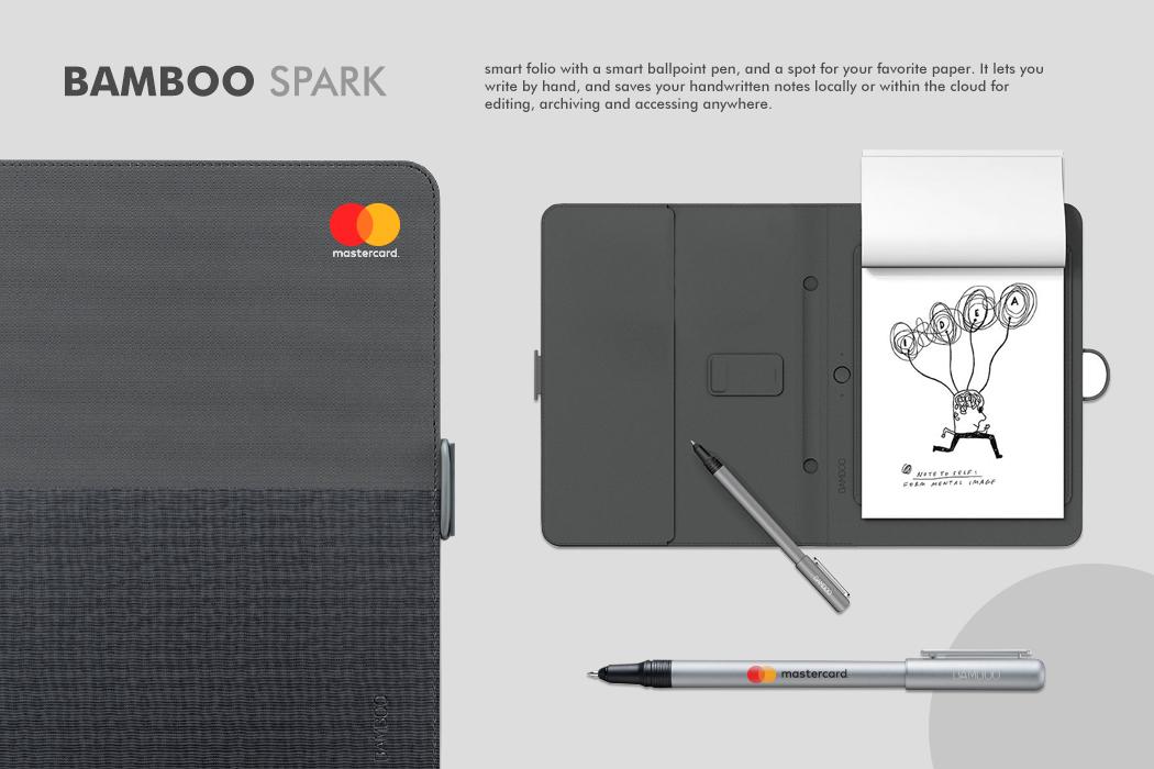 MasterCard Bamboo Spark Smart Folio Gift by Cornerstone