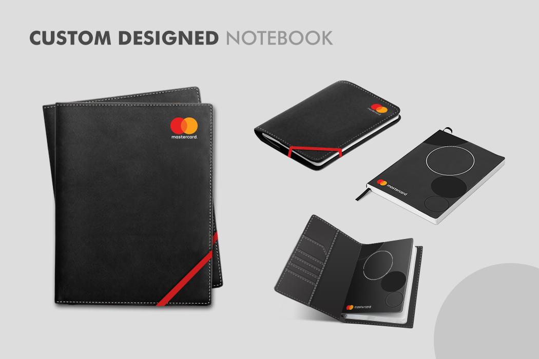 Custom Designed Notebook by Cornerstone