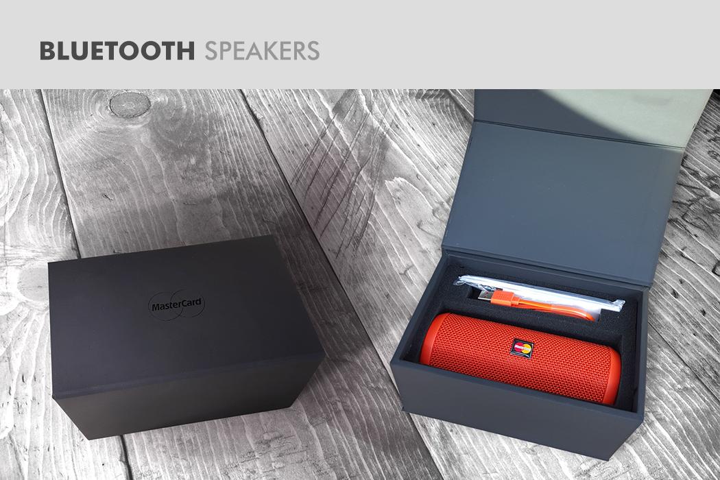 MasterCard Speaker Set Corporate Gift by Cornerstone