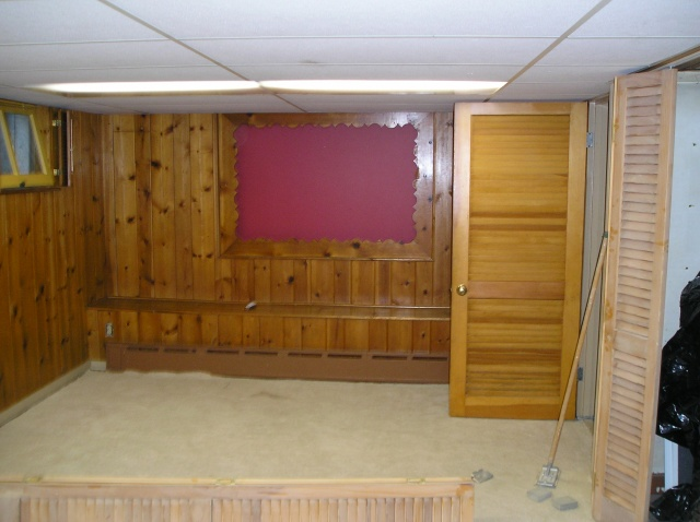 Basement, 2006 - Before