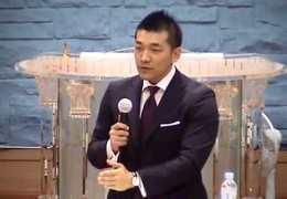 다니엘 김선교사  –  일심 교회 집회