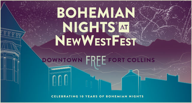 Bohemian Nights at New WestFest