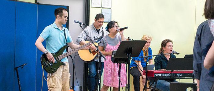 Cornerstone worship team