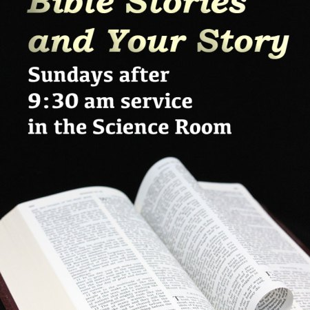 Bible Stories and Your Story class