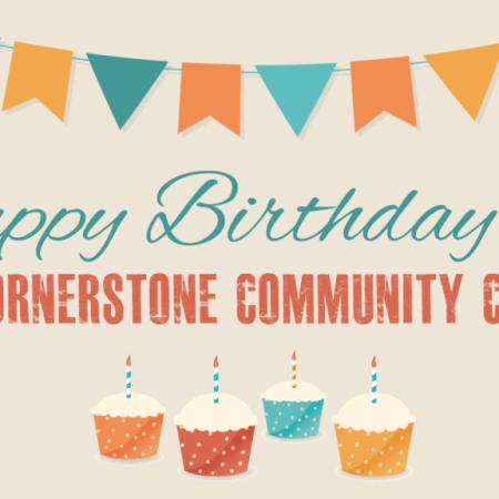 Happy Birthday Cornerstone Community Church
