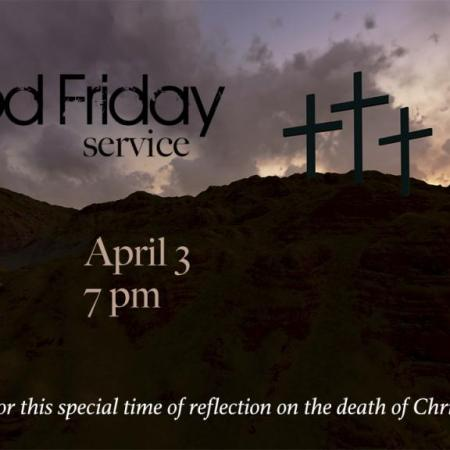 Good Friday, April 3