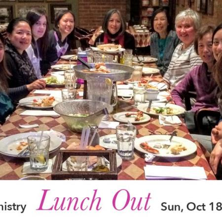 Women's Ministry Lunch Out
