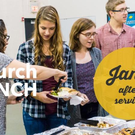 Church Lunch, Jan 1