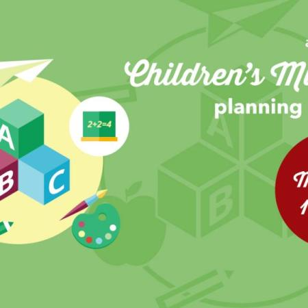 Children's Ministry Planning Meeting, March 5