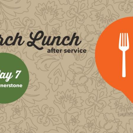 Church Lunch - Taco Bar, May 7