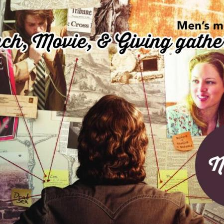 Men's Ministry: Lunch, Movie, & Giving Gathering - 11/11