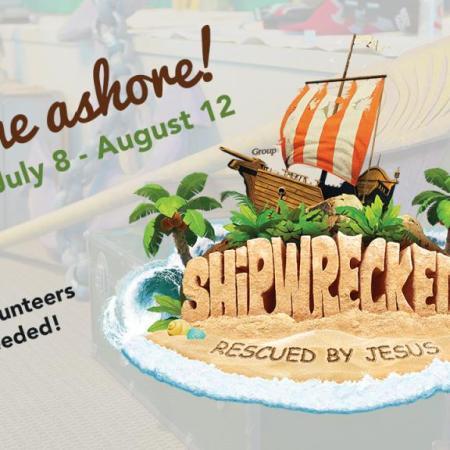 Cornerstone VBS - Shipwrecked, 7/8 - 8/12