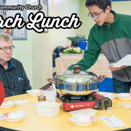 Church lunch Jan 6