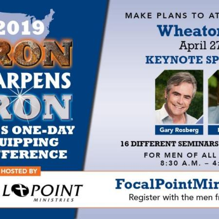 Iron Sharpens Iron Men's Conference - April 27