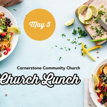 church lunch May 5