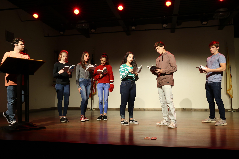 Cornerstone students - theatre