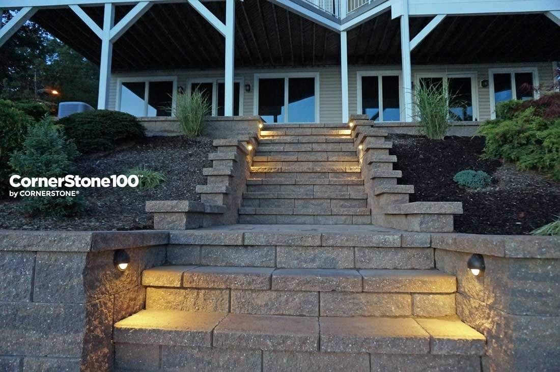 Why You Should Consider Landscape Stairs   Wooden Handrail For Garden Steps   Stone Step   Free Standing   Metal   Wrought Iron   Front Door Step