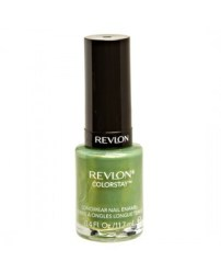 Summer Green Manicure 6-4-16 Revlon Colorstay Bonsai