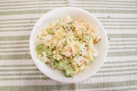 Creamy Seafood & Broccoli Alfredo