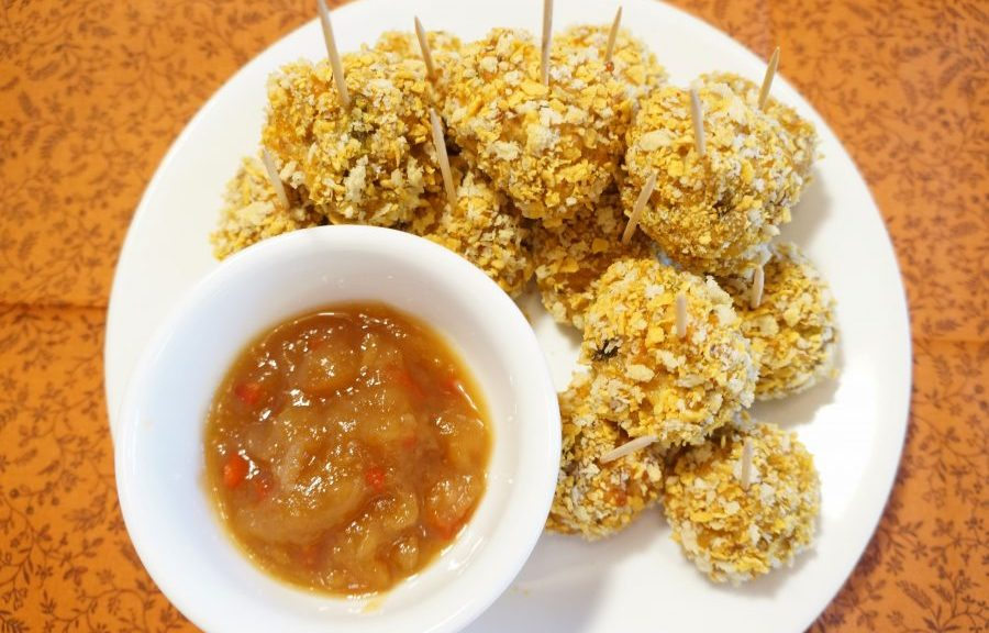 spicy southern style sausage balls