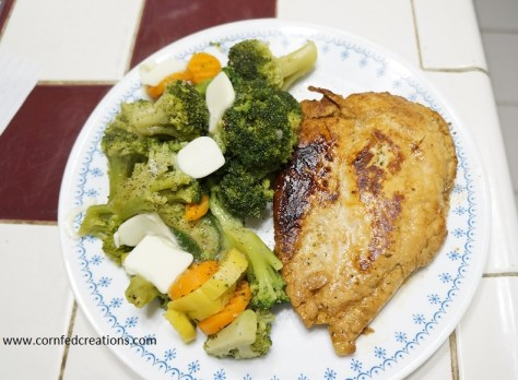 pan seared marinated chicken breast