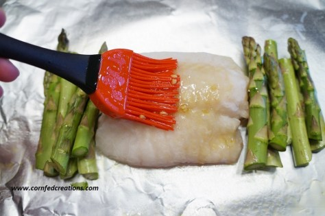 speedy steamed cod and veggie packs