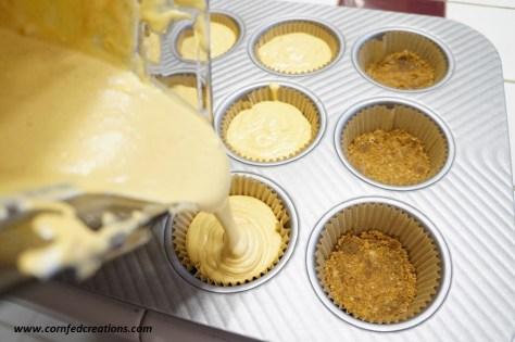 pumpkin pecan praline cheesecakes mini