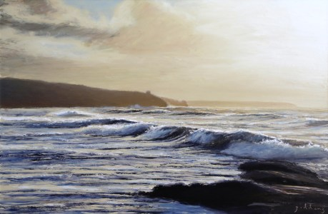 Across to Rinsey(600mm x 900mm)