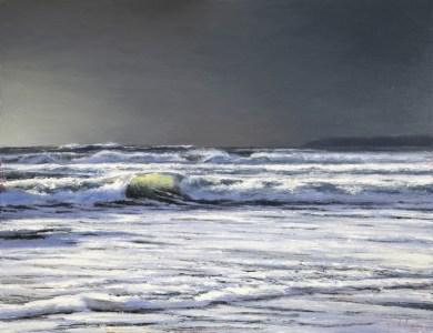 Storm Surf, Mounts Bay (700mm x 900mm)