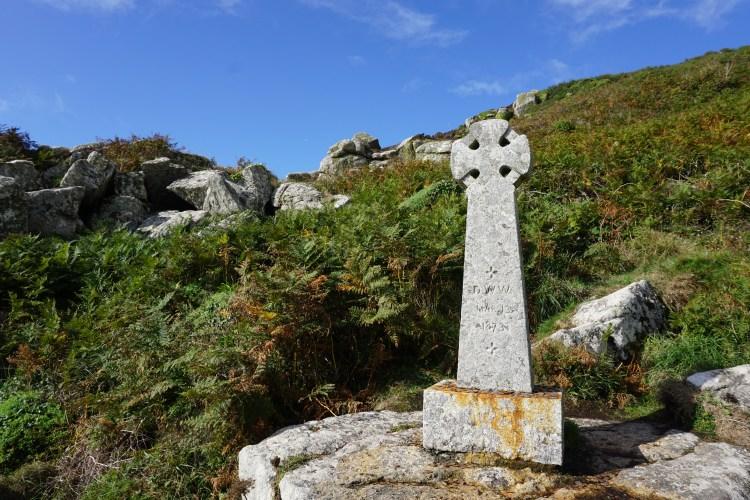 Cross Lamorna Cove
