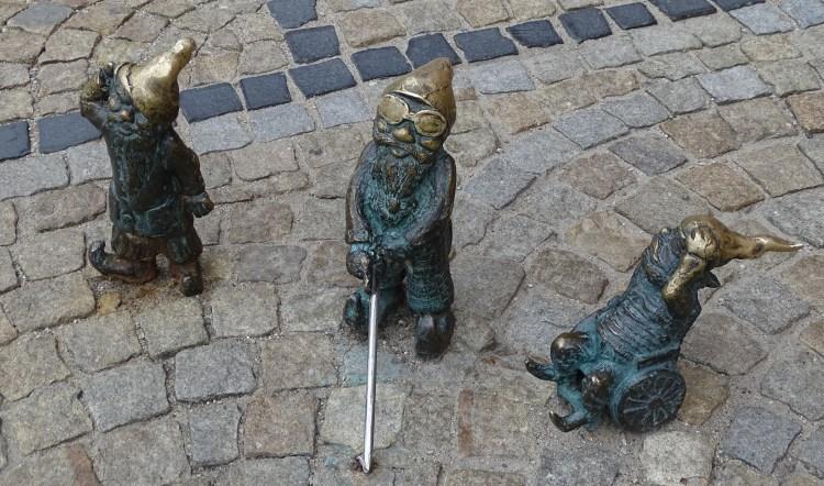wroclaw gnomes