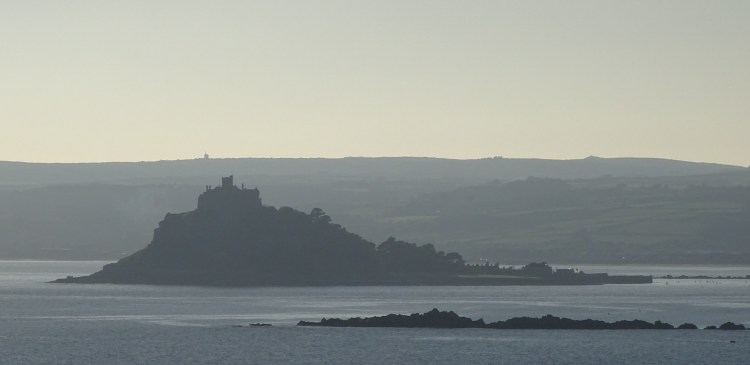 St Michaels's Mount from Cudden Point