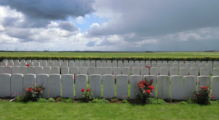 Frankfurt Commonwealth Cemetery, Beaumont Hamel, The Somme, France.JPG