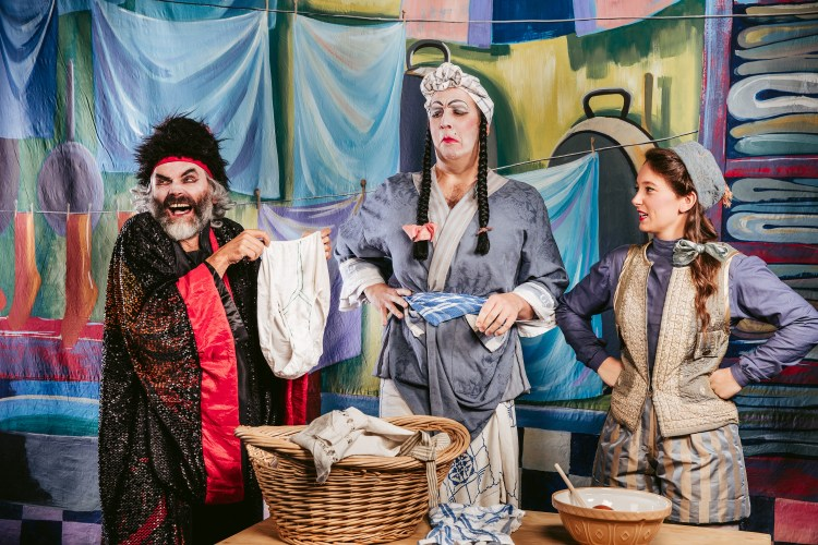 Miracle Theatre Aladdin review