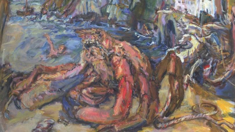 Czech expressionist painting from Oskar Kokoschk