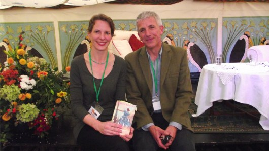 Novelists Alison Mercer and Patrick Gale
